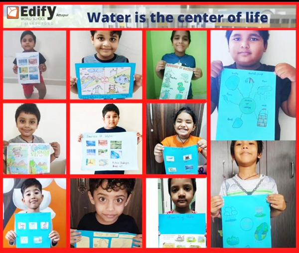 Water is the center of life (3)